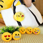 2015 Fashion 1PCS  Soft Emoji Smiley Emoticon Round Bag Ring Hot Selling Best