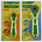 CLOVER Rotary Cutter for Quilting Patchwork Fabric Cutting - Choose Size