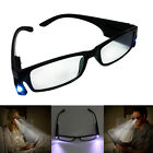 Men Women LED Night Reading Glasses Light Up Magnifier Optical Lens Spectacles