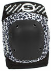 Smith Scabs Safety Gear - WHITE LEOPARD - Elite Knee Pads - roller derby skate image