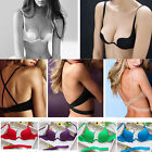 U Low Cut Push Up Classy Women Backless Invisible Convertible bra