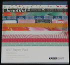 """Kaisercraft 'CHASE RAINBOWS' 6.5"""" Paper Pad KAISER *Deleted 2 left only*"""