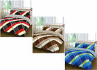 4pc HARDY Check Duvet Quilt Cover Valance Sheet Pillowcase Complete Bedding Set