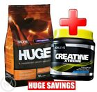 HORLEYS HUGE WHEY PROTEIN 10lb + CREATINE XTREME - MASS GAIN STACK