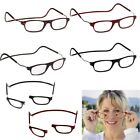 Front Connect Magnetic Adjustable Reading Glasses Anti-fatigue Hanging Reader UK
