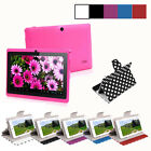 "7"" Tablet PC  Google Android 4.4 Quad-Core 8GB WIFI Cameras A33 Q8 Kids Phablet"