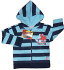 Spiderman Hoody Zip Up Jacket Blue Striped Quality Item 4 Years up to 10 Years