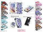 For Samsung GALAXY S6 Shockproof Tuff Hybrid Rubber Hard Protective Case Cover