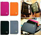 Travel Wallet Ticket Passport Credit Card ID Document Organizer Holder Bag