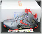 Nike Lebron XI Elite 11 Team Collection Wolf Grey Laser Crimson Red 642846-001