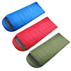 Large Single Sleeping Bag Warm Soft 3-Season Adult Waterproof Camping Hiking