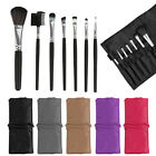 7 Pcs Professional Cosmetic Make up Brush Set Powder Blusher Eyeshadow Lip Bag