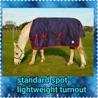 LIGHTWEIGHT COMBO TURNOUT HORSE RUG ALL SIZES WITH NECK