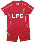 Boys Liverpool FC Short Pyjamas Summer Wear 3-4 Up to 11-12 Years 100% Cotton