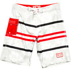 Brand NEW Mens Lost Viva Tropical Boardshorts in Grey Surf/Wake/Ski Discontinued