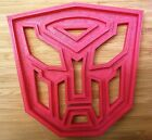 Transformers Logo Cookie Cutter - Choice of Sizes - 3D Printed Plastic