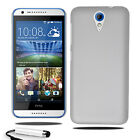 For HTC Desire 620 Armour Hard Shell Case Back Cover + Screen Protector + Stylus