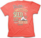 Cherished Girl Kerusso MUSTARD SEED FAITH Womens Christian T-Shirt BRAND NEW