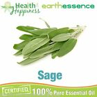 earthessence SAGE ~ CERTIFIED 100% PURE ESSENTIAL OIL ~ Aromatherapy Grade