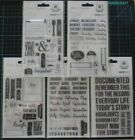 U Choose) Calendar Document Months Polaroid Weekdays CLEAR STAMP Sets Stamping