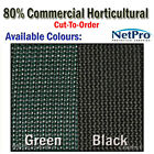2m & 4m Shade Cloth 80% Commercial Grade Shadecloth 280gsm - Cut To Order