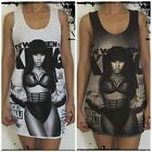 Nikki Minaj Vest Tank-Top Singlet (T-Shirt Dress) Sizes S M L XL