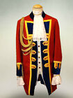 Traditional British Army Soldier Military Men's Costume Jacket Theme Custom Made