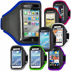 RUNNING FITNESS GYM SPORTS ARMBAND CASE COVER FOR VARIOUS HTC PHONES