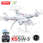 Syma X5SW Wifi FPV Explorers 2.4Ghz 4CH RC Quadcopter Drone HD Camera batteries