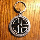 CELTIC NORSE SILVER DOG TAG PET ID PROTECTION GOOD LUCK CHARM MEDAL PENDANT