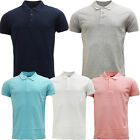 Mens Brave Soul Plain Polo Shirt 'Fyodor' Smart / Casual Polos