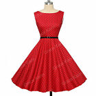 Countryside Vintage Style Housewife Swing 50's 60's Pinup Prom Dress