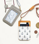 HIMORI ICONIC Swing Neck Card Pocket - ID Card  / Metro Card Case + Neck Strap