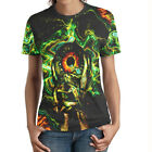 illuminati DMT DRUG Dark Psychedel all See Cotton with Coolmax T-Shirt for Women