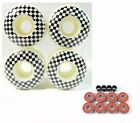 Skull 52mm Skateboard Wheels New Sealed with FREE BEARINGS AND SPACER