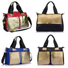 New Real leather women's pocket shoulder bag handbag Tote Hobo purse gift bag