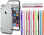 Ultra Slim Transparent Crystal Clear TPU Case for Apple iPhone 4 5 6 6s Plus +
