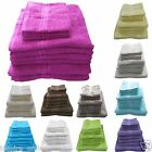 NEW 100% COTTON 10 PIECE SOFT SUPREME TOWEL BALE SET FACE HAND BATH TOWELS