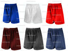 PE SCHOOL FOOTBALL SHADOW STRIPE SPORTS SHORTS RED MAROON NAVY ROYAL BLACK WHITE