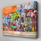AB102 Urban Street Graffiti Canvas Wall Art Ready to Hang Picture Print