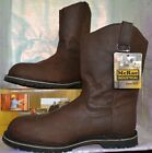 "MCRAE INDUSTRIAL MEN'S BROWN 11"" MR85144 RUF RIDER WELLINGTON BOOTS SHOES NEW"