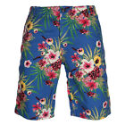 Mens Schott Camden Blue Hawai Regular Fit Shorts