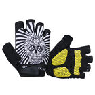 Practical Professional Cycling Bike Bicycle Half Finger Glove S/M/L/XL Yellow