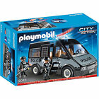 Playmobil 6043 Police Van squad car with light and sound brand new 2015