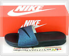 Nike Wmns Benassi Solarsoft SLD2 WC QS World Cup Teal Black 810486-303 US 5 6