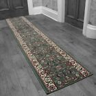 Persian L/Green - Stair Carpet Runner Narrow Staircase Traditional Quality Cheap