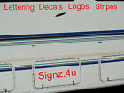 Turquoise VINYL STRIPE x 5m - vehicle stripe decal sticker - various widths
