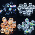 "Mutil-Color Facted Crystal Quartz Beads 8"" 5x8mm 6x10mm 8x12mm"