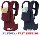 BABY CARE BABY CARRIER INFANT SLING FRONT & BACKPACK RED / BLUE COLOR AU STOCK, used for sale  Shipping to Nigeria