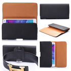 PU Leather Magnet Flip Belt Clip Holster Case Pouch Sleeve Cover for Cell Phone